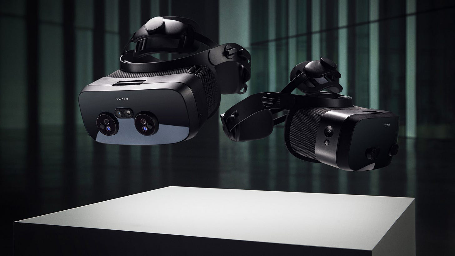 Varjo Announces XR-3 and VR-3 Headsets - Specs, Price ...