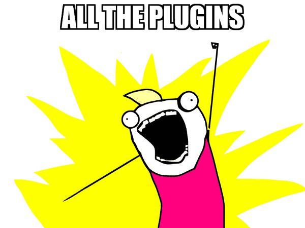 All the plugins meme