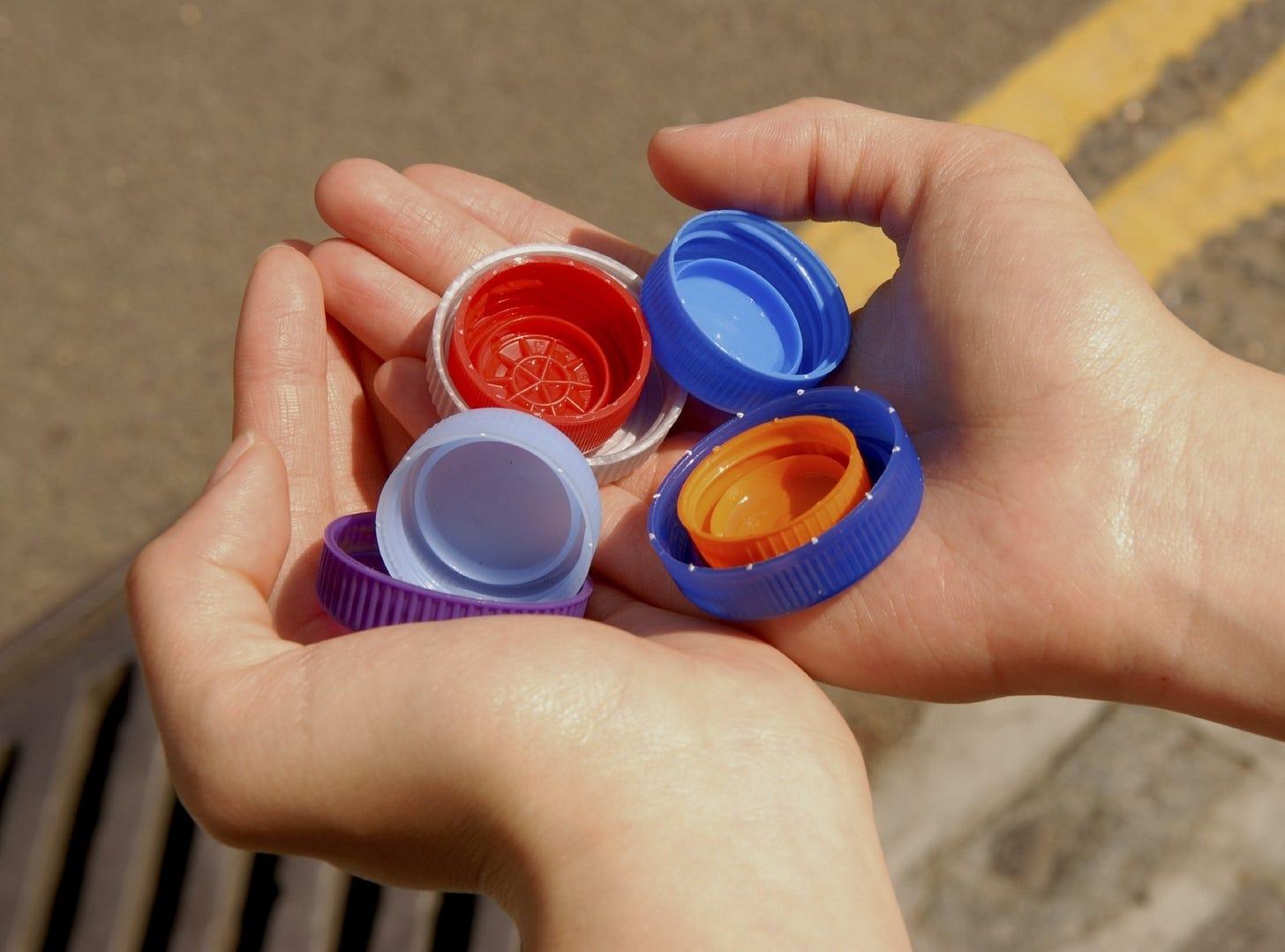 Can You Recycle Plastic Bottle Caps & Lids? | Plastics Make It Possible