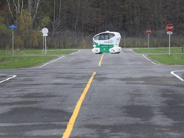 Ottawa's self-driving car test-track