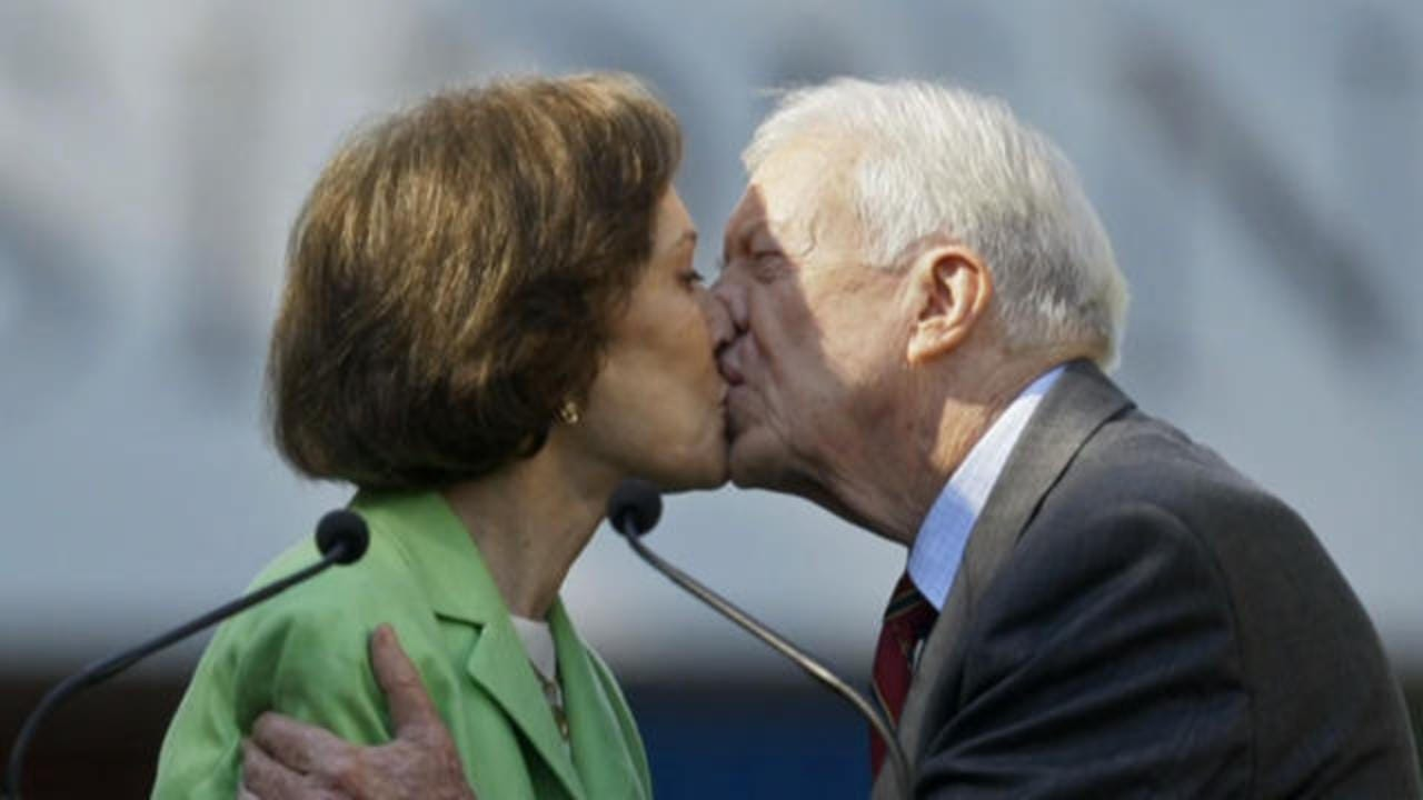 Jimmy and Rosalynn Carter mark 75th wedding anniversary - CBS News