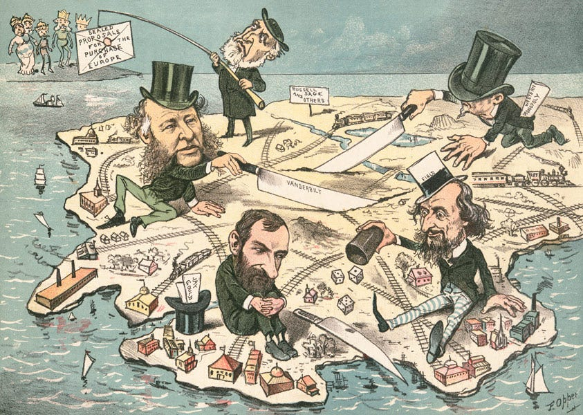 Image result for railroad monopolies