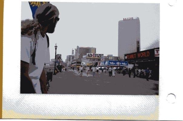 Fun fact: me in Atlantic City in summer 2000