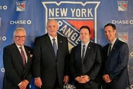 New York Rangers promote Chris Drury to President, GM