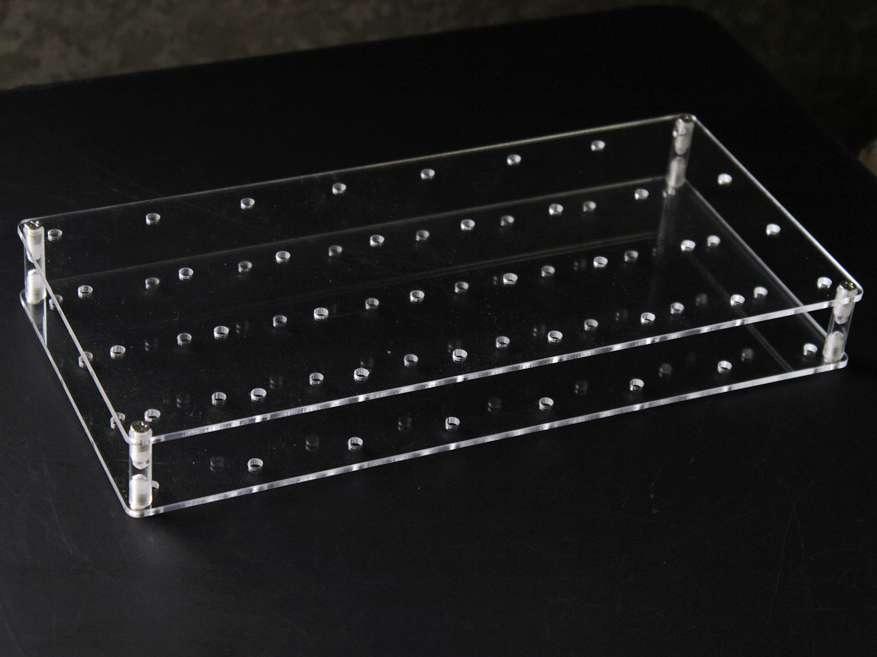 32 holes Transparent Plexiglass Acrylic Lollipop Display Stand Detachable Design