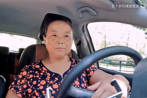 """""""Why do I want to take a road trip?"""" asked Su Min, a 56-year-old retiree from Henan Province in central China. """"Life at home is truly too upsetting."""""""