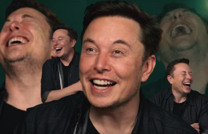 Elon Musk Laughing Blank Template - Imgflip