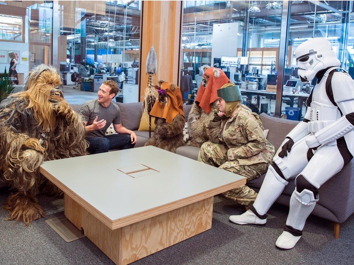 Mark Zuckerberg Celebrates Star Wars Day
