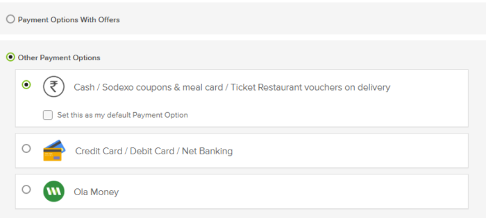 other payment options in big basket