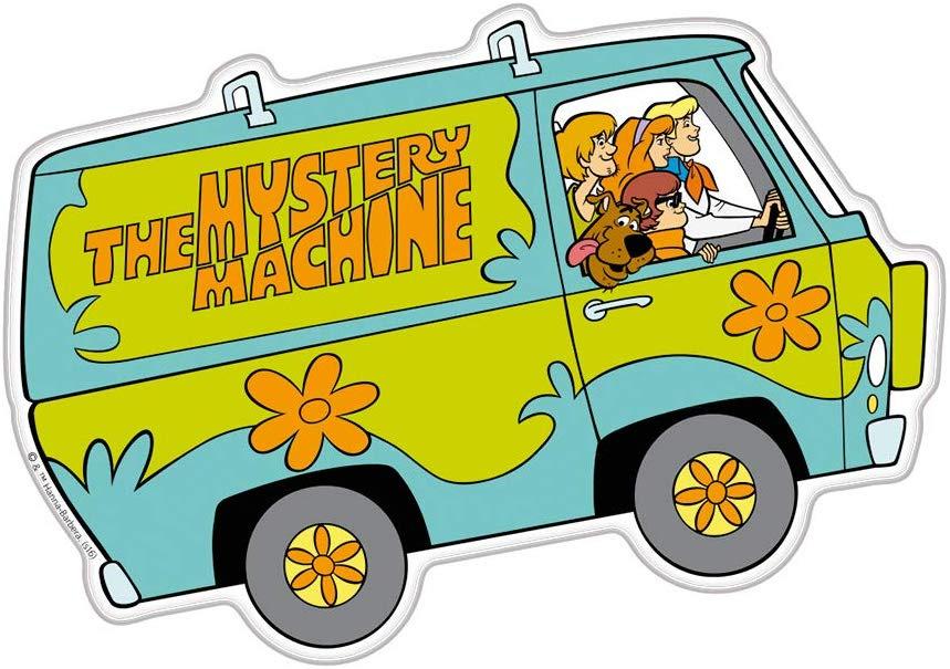 Scooby Doo Mystery Machine Decals | My Custom Hotwheels Decal Shop
