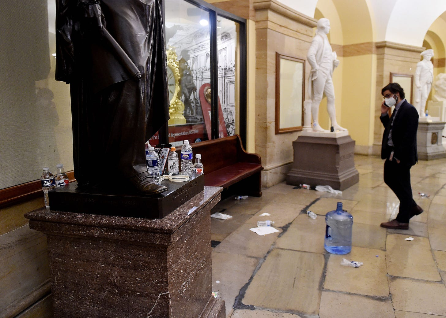 GLENN GREENWALD – The False and Exaggerated Claims Still Being Spread About the Capitol Riot