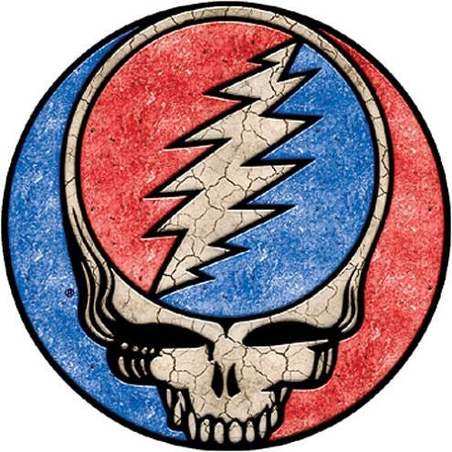 Grateful Dead Steal Your Face kinda blotchy or I can't thi… | Flickr