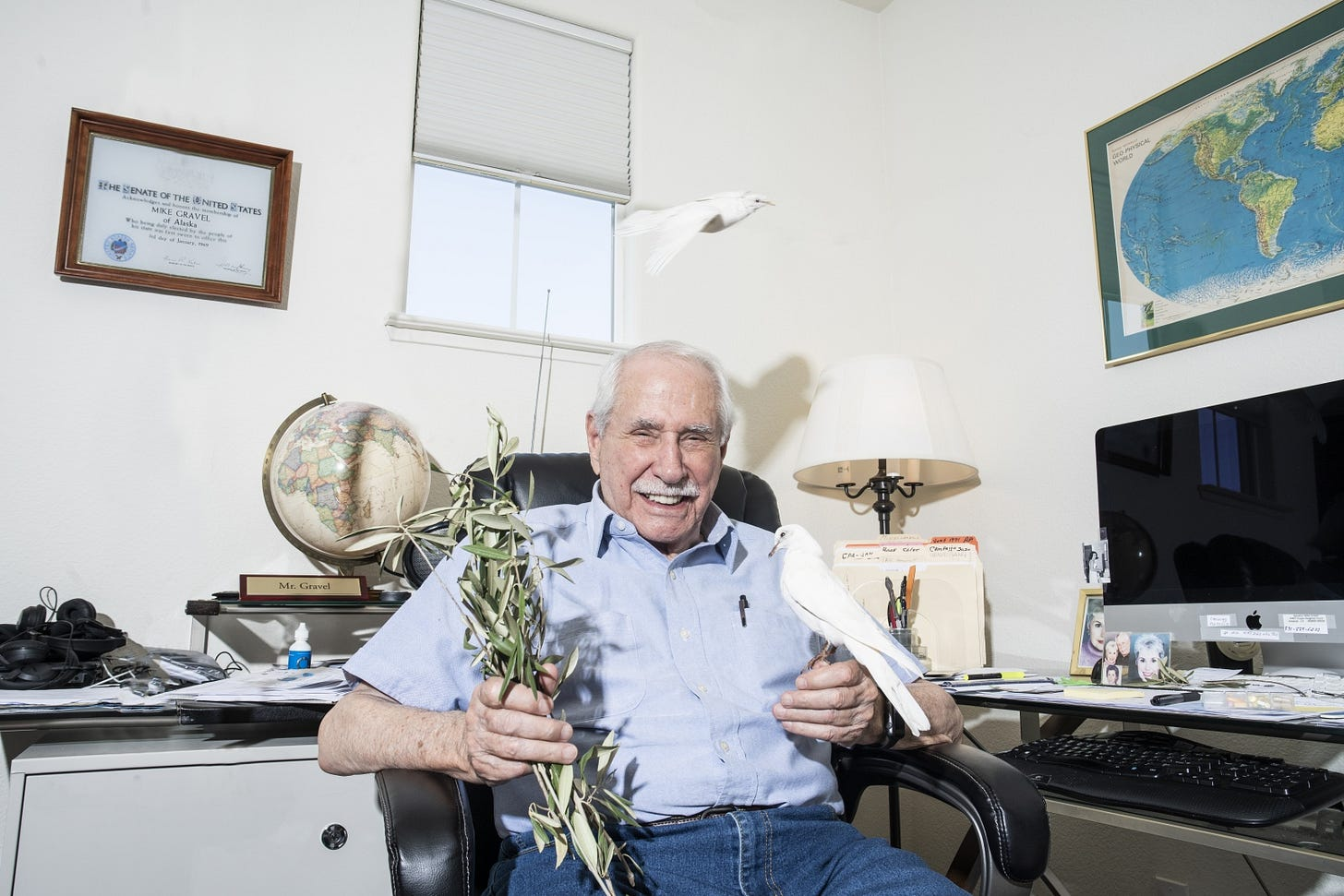 Mike Gravel 2020 Presidential Campaign Photoshoot by Eric ...