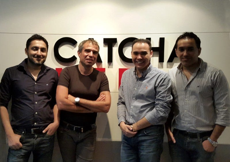 Left to Right - Imran Ali Khan, Gilles Blanchard, Patrick Grove, Zeeshan Ali Khan
