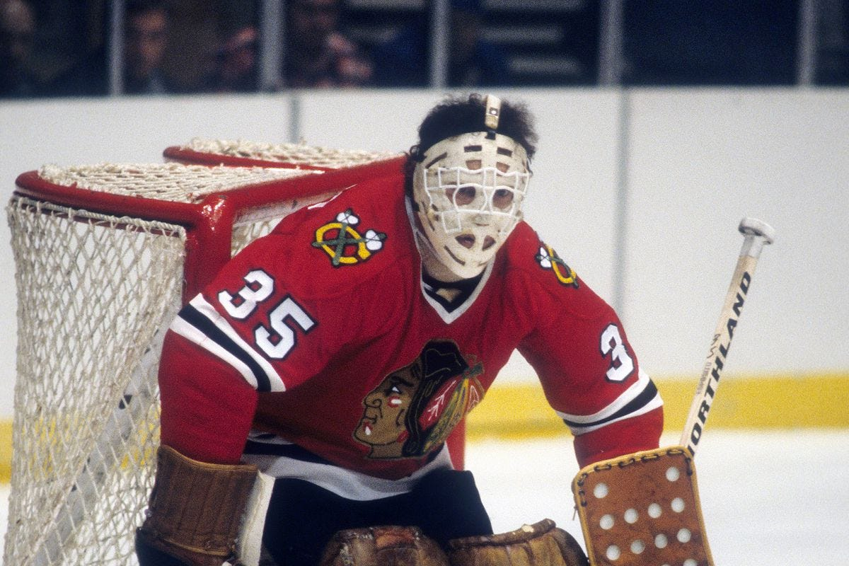 Chicago Blackhawks goalie Tony Esposito named best No. 35 in NHL history -  Second City Hockey