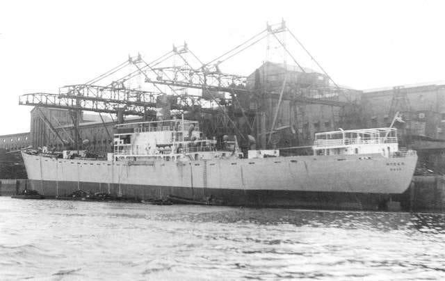 GEORGE WEEMS CARGO SHIP 1963-1966 - WRECK WRAK EPAVE WRACK PECIO
