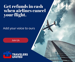 Get refunds in cash when airlines cancel your flight