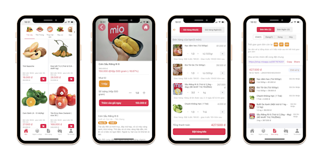 Mio, a social commerce startup focused on smaller cities and rural areas in  Vietnam, raises $1M seed