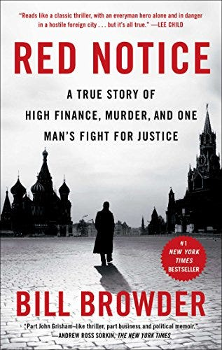 Amazon.com: Red Notice: A True Story of High Finance, Murder, and One Man's  Fight for Justice eBook : Browder, Bill: Kindle Store