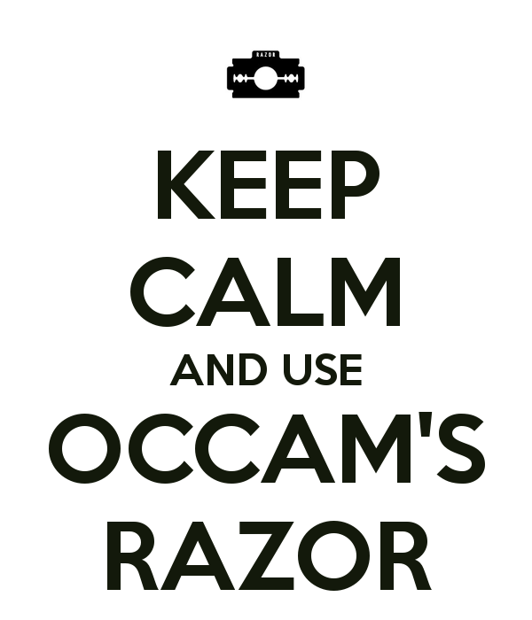 Kensei Chronicles: Karate and Occam's razor.: Critical thinking in ...