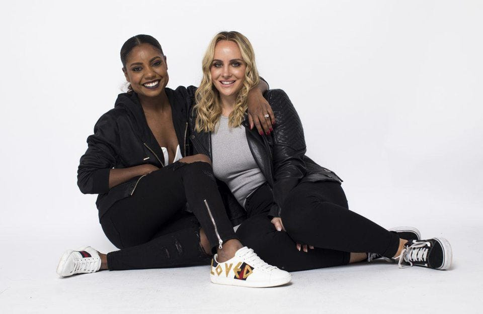 (From left) Kellie Pean and Alyssa Convertini created the innovative marketing collective Brand New.