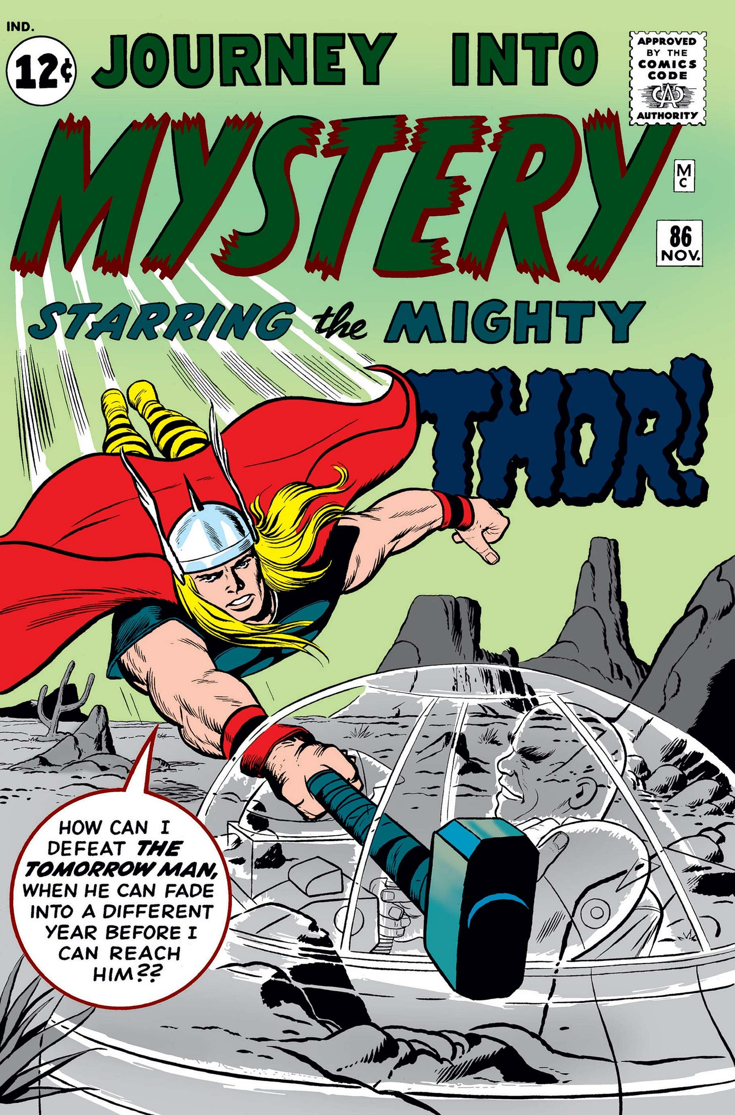 Journey Into Mystery (1952) #86   Comic Issues   Marvel