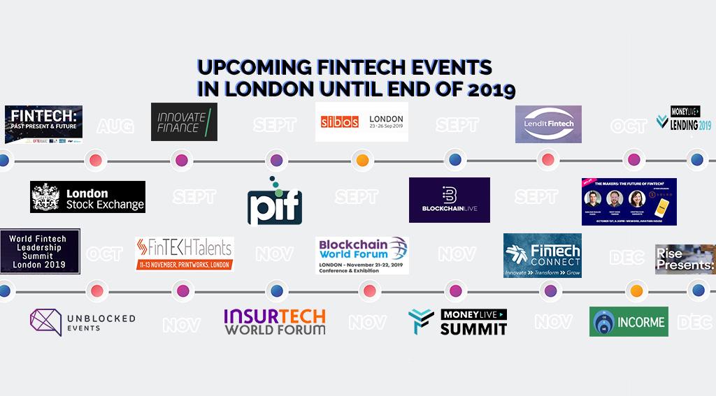 Upcoming Fintech Events in London until End of 2019 | Fintech Schweiz  Digital Finance News – FintechNewsCH
