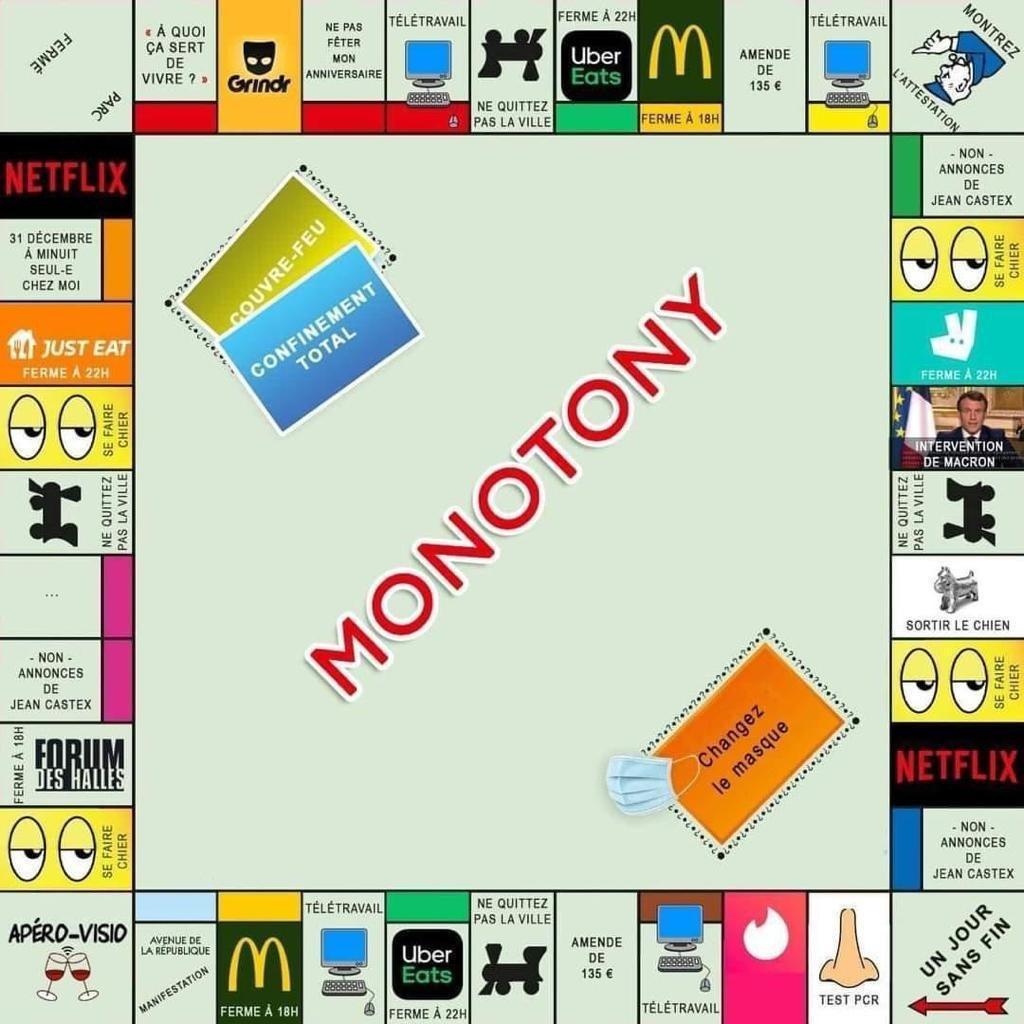 Jeu de Monotony