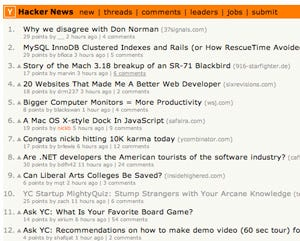 Little Known Hacker News Is My First Read Every Morning | TechCrunch