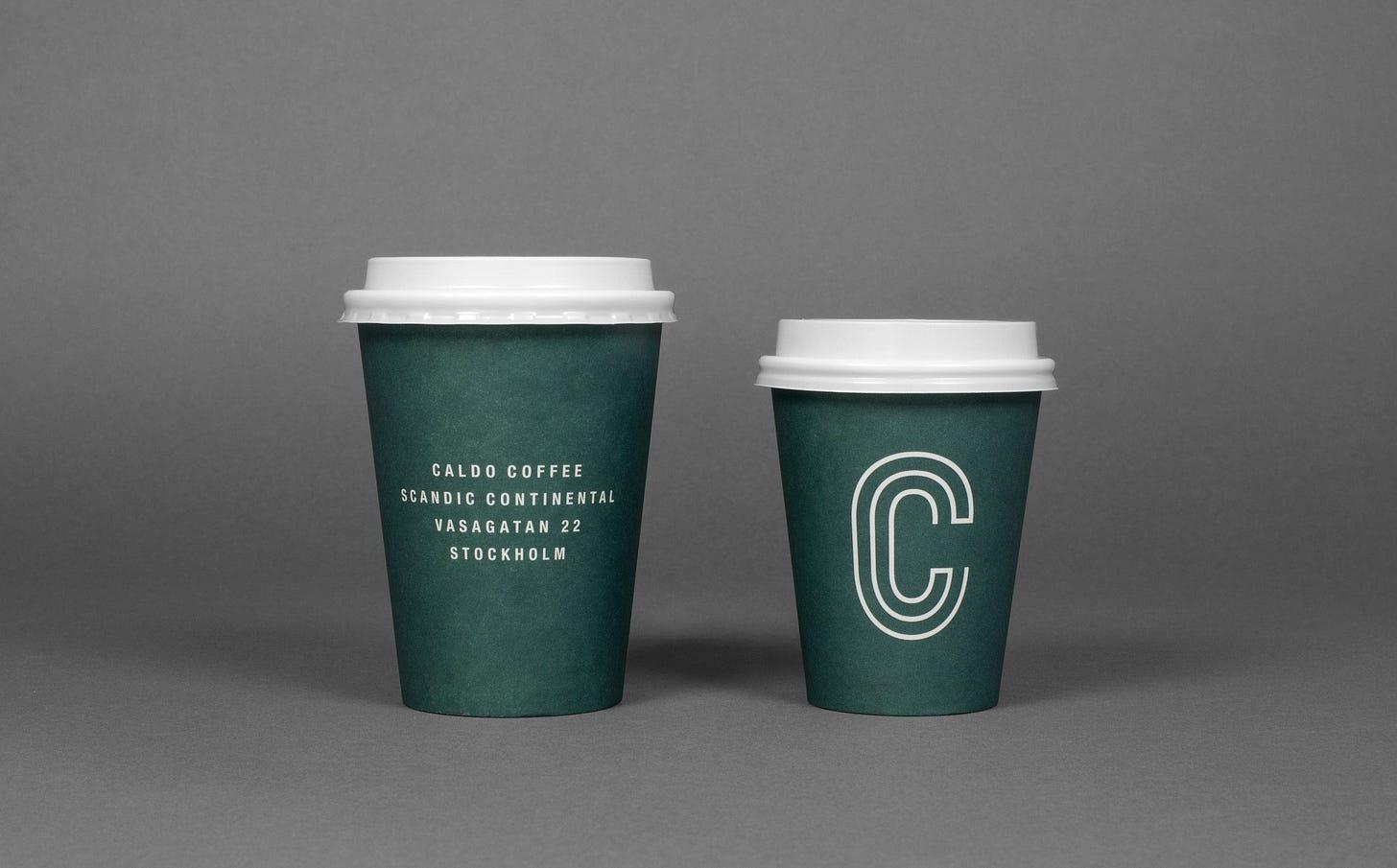 New Logo & Brand Identity for Caldo Coffee by 25ah — BP&O