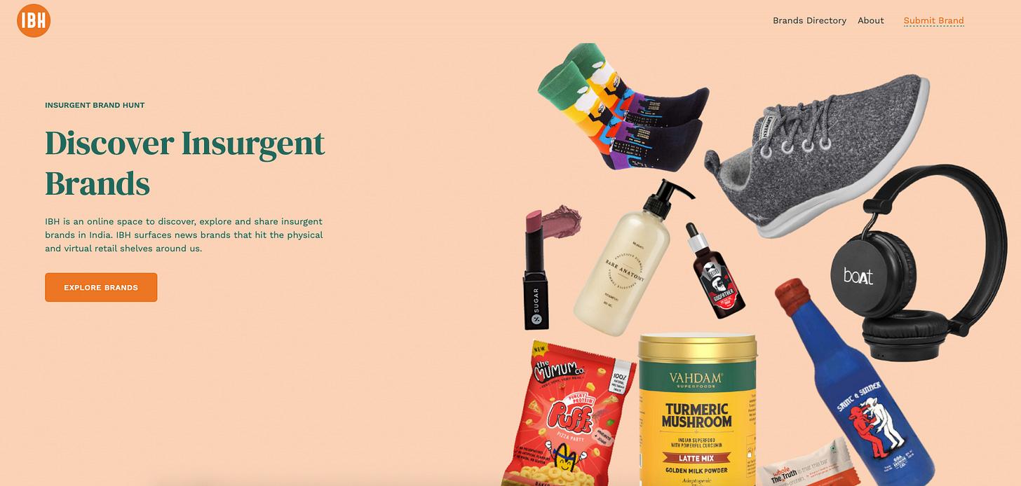 Insurgent Brand Hunt