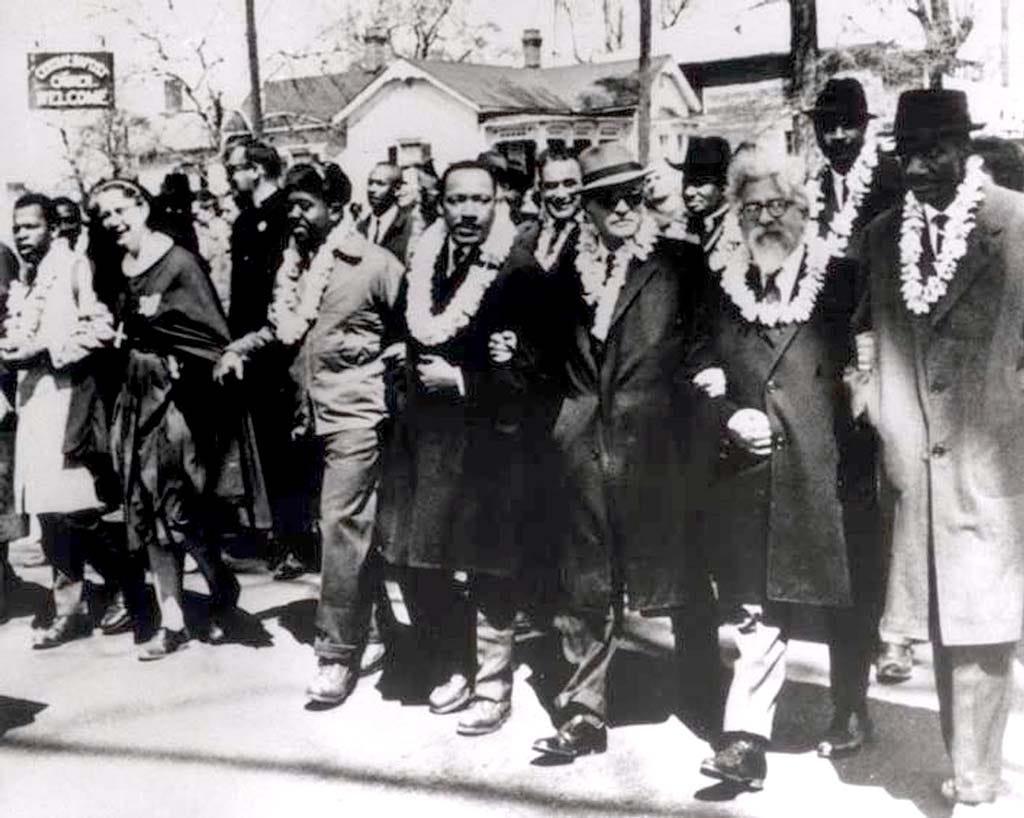 "1963) Rabbi Abraham Joshua Heschel, ""Religion and Race"""