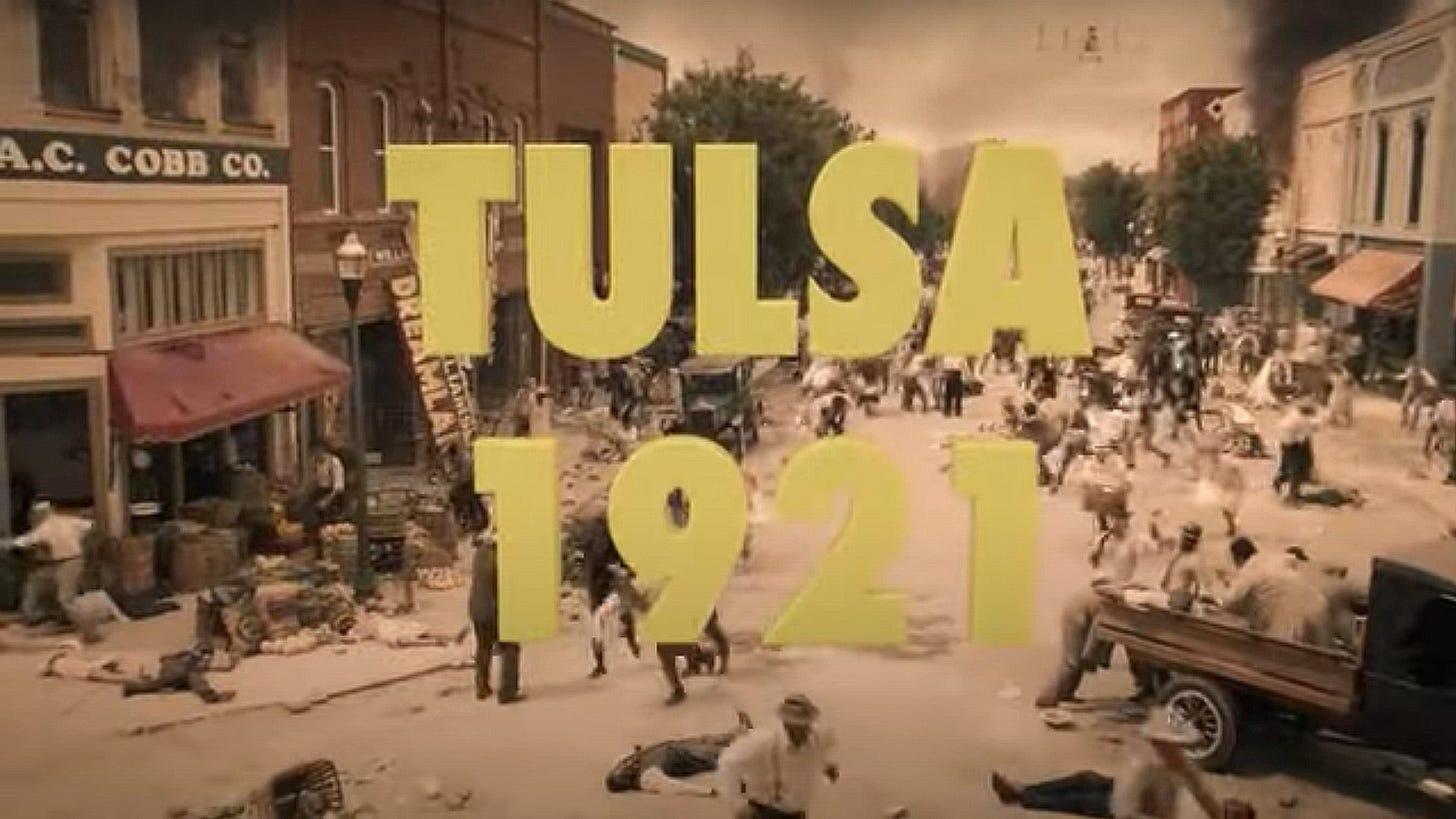 "HBO's Watchmen ""Tusla Race Massacre"" scene."