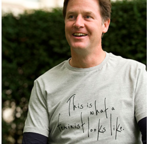 Why would you not be a feminist says Nick Clegg (East Midlands Liberal  Democrats)