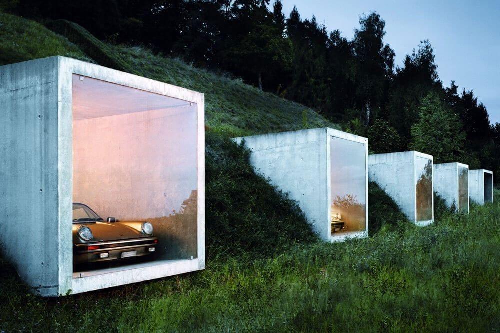 This modern Swiss parking garage is a man's dream - Swiss Architecture