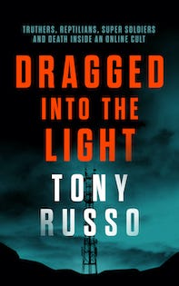 dragged into the light book cover
