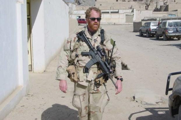 Christopher Miller in Afghanistan with 5th Special Forces Group.