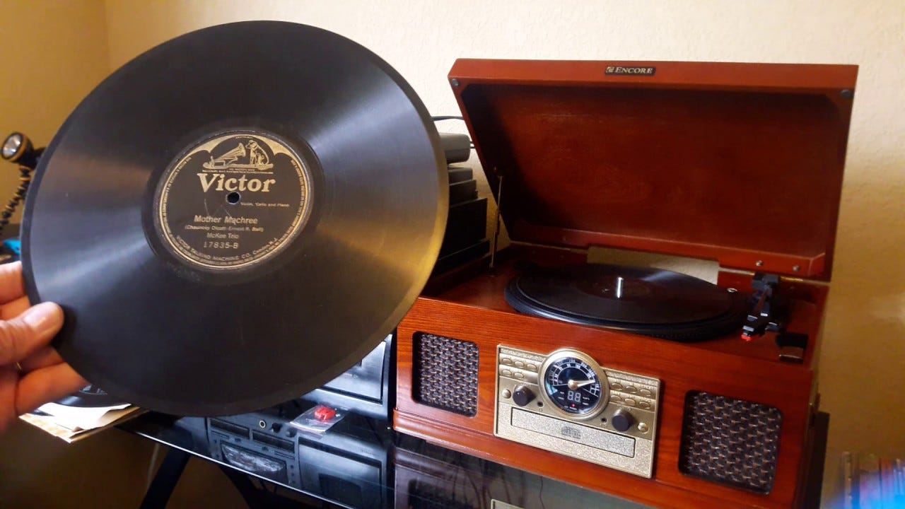 The 78 RPM Record History & Sample! - YouTube