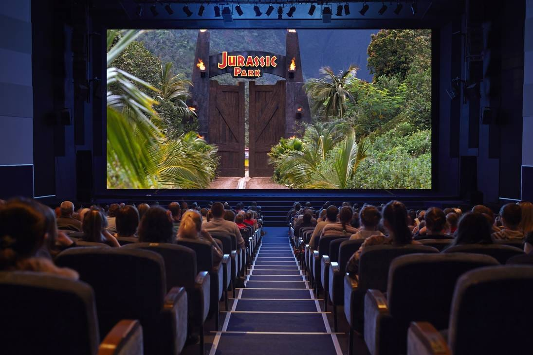 Movie Theater - Jurassic Park