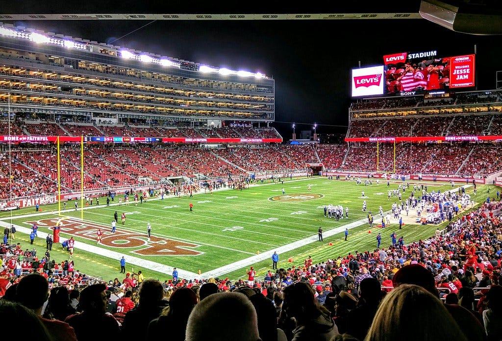 49ers & Levi's Stadium #NinersYodel #LevisStadium | Santa Cl… | Flickr