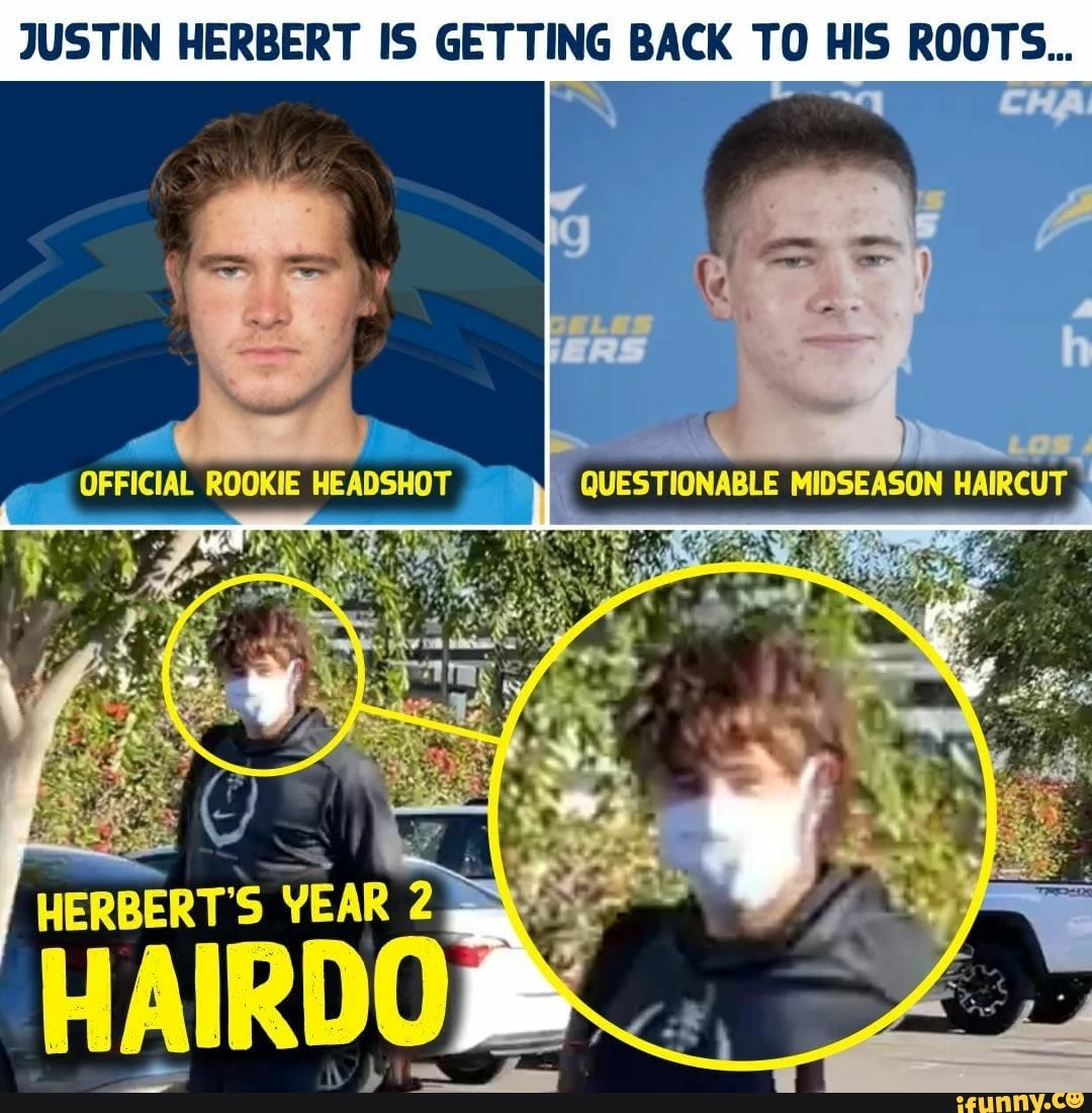 JUSTIN HERBERT IS GETTING BACK TO HIS ROOTS... OFFICIAL ROOKIE QUESTIONABLE MIDSEASON HERBERT'S YEAR YEAR
