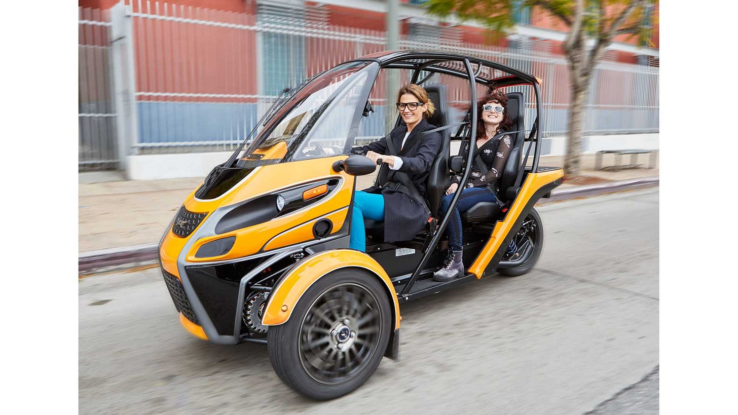 Meet The All Electric Arcimoto FUV