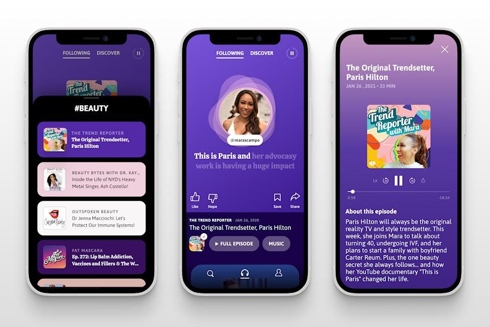 Podz aims to be the go-to discovery portal for podcasts in the 'golden age  of audio'