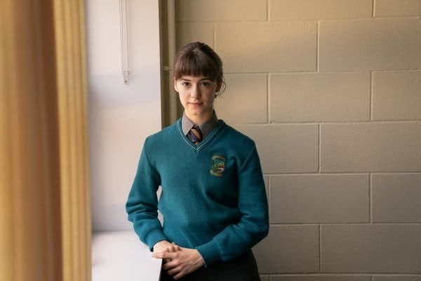 """Daisy Edgar-Jones in """"Normal People,"""" an adaptation of Sally Rooney's best-selling novel, arriving Wednesday on Hulu."""
