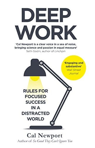 Deep Work: Rules for Focused Success in a Distracted World eBook: Newport,  Cal: Amazon.in: Kindle Store