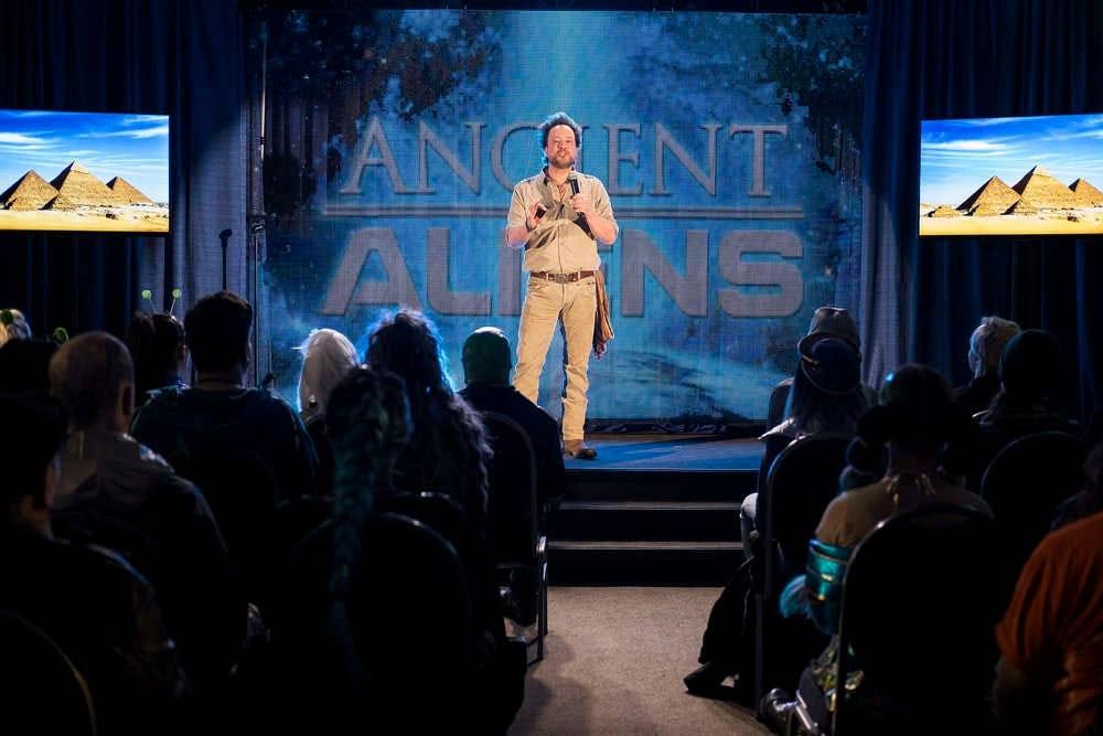 """Giorgio Tsoukalos on """"Resident Alien"""""""