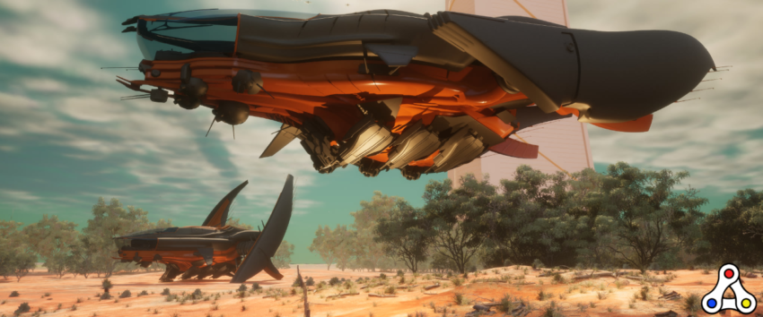 Star Atlas wip alpha screenshot spaceships