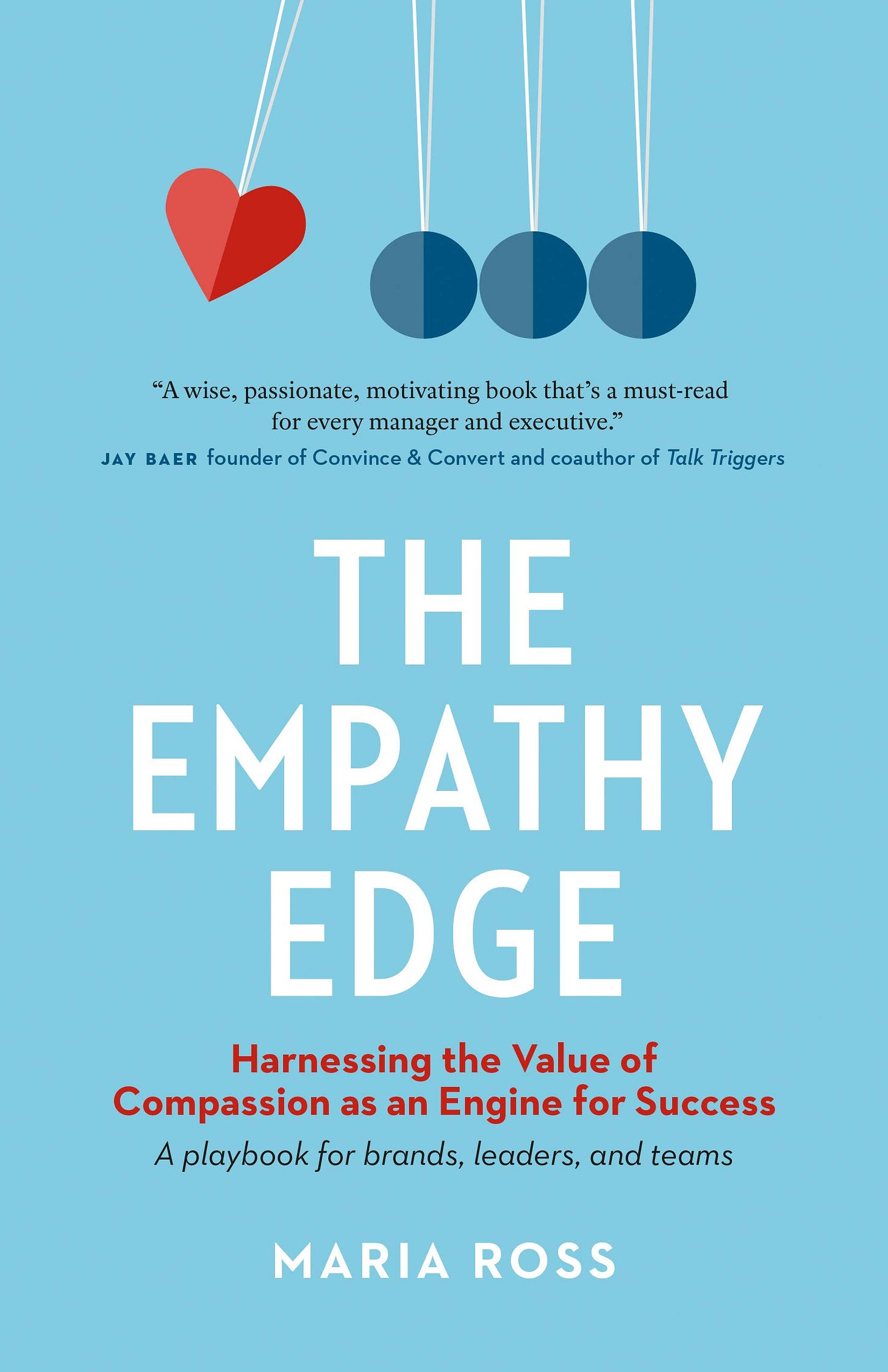 Book cover: The Empathy Edge by Maria Ross