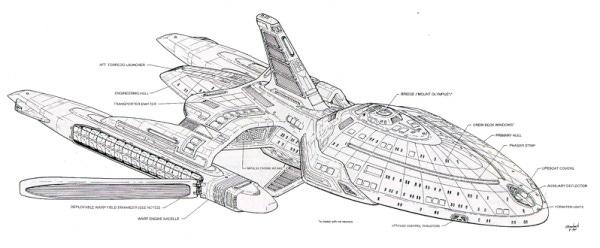 Voyager concept art