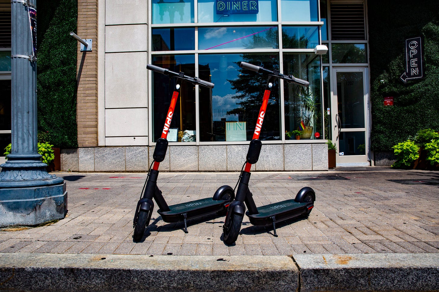 Image result for scooter parking spin